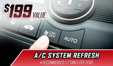 a/c system refresh