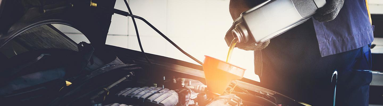 Oil change service happening at Arrigo Alfa Romeo of West Palm Beach