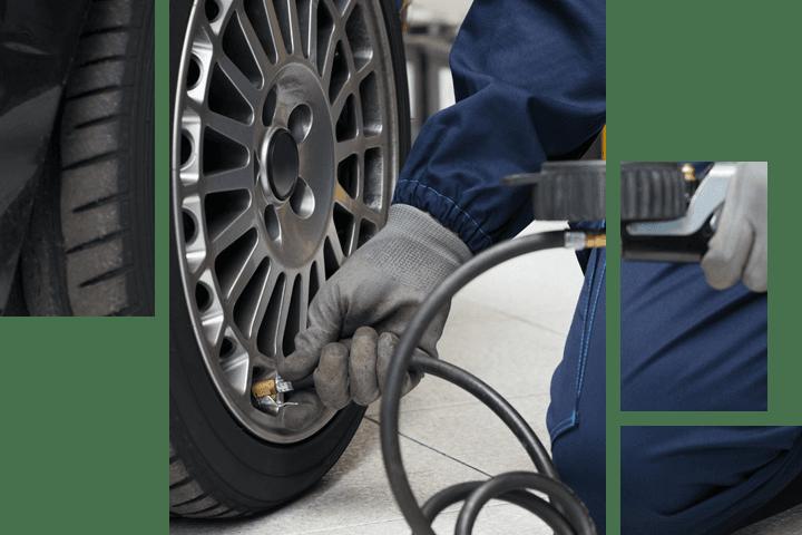 Refiling tire pressure