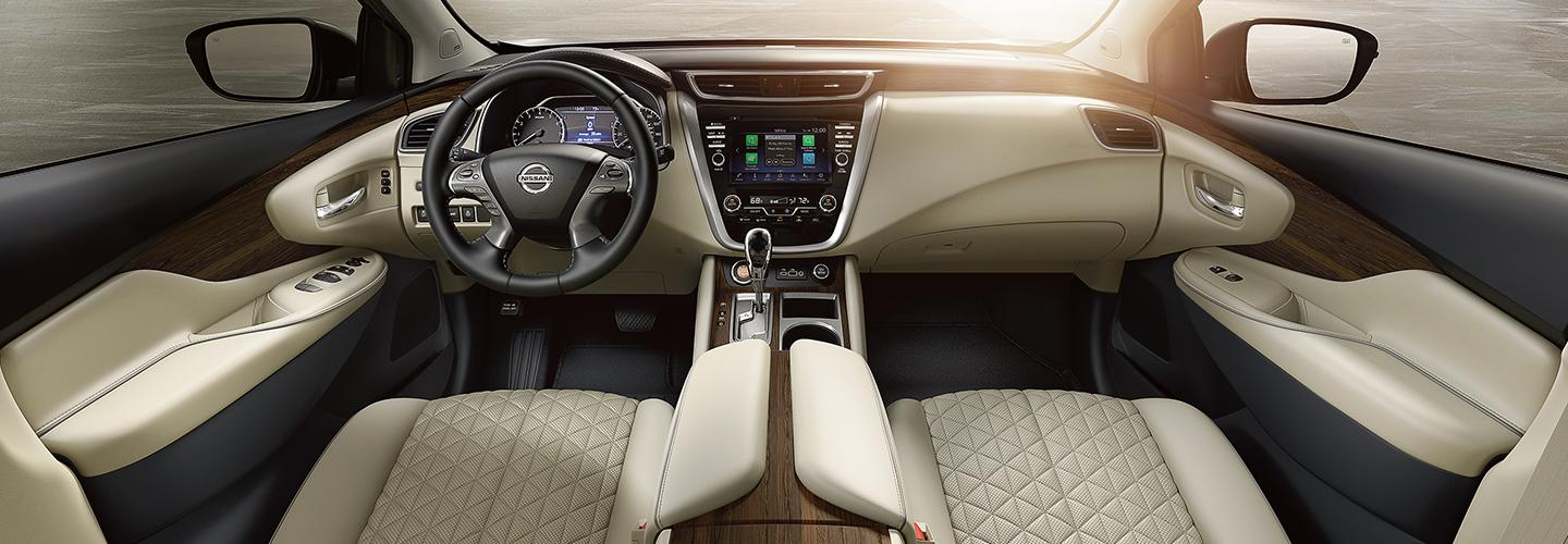 Picture of the interior of the new 2020 Nissan Murano