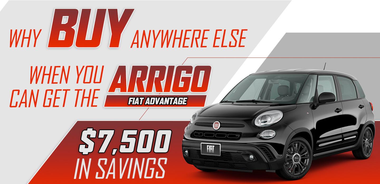 Why Buy Anywhere Else? - Get The Arrigo Advantage.