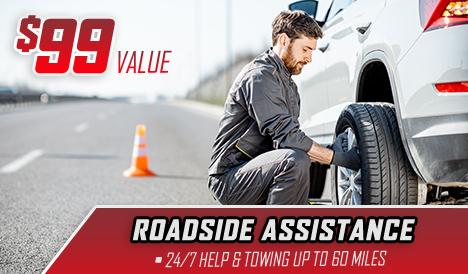 $99 Value – Roadside Assistance