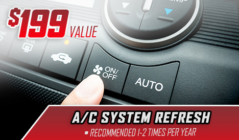 $199 Value – A/C System Refresh