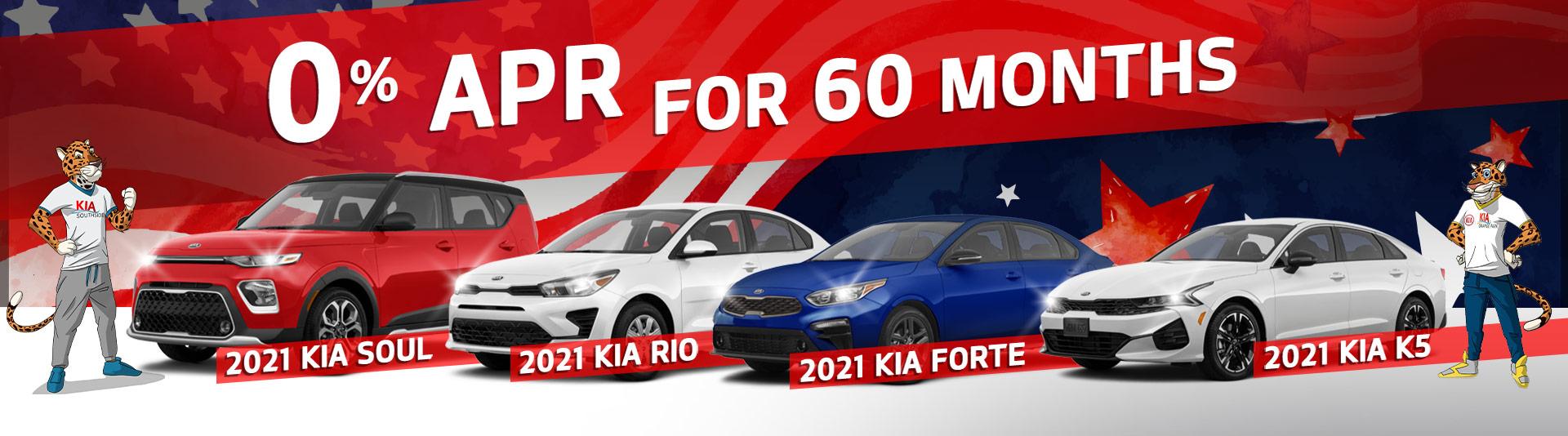 Kia zero percent offer