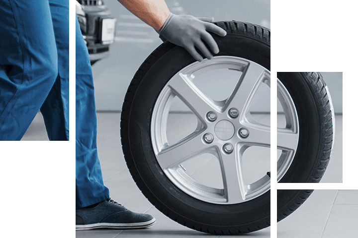 Wheel alignment service available at Arrigo CDJR Sawgrass
