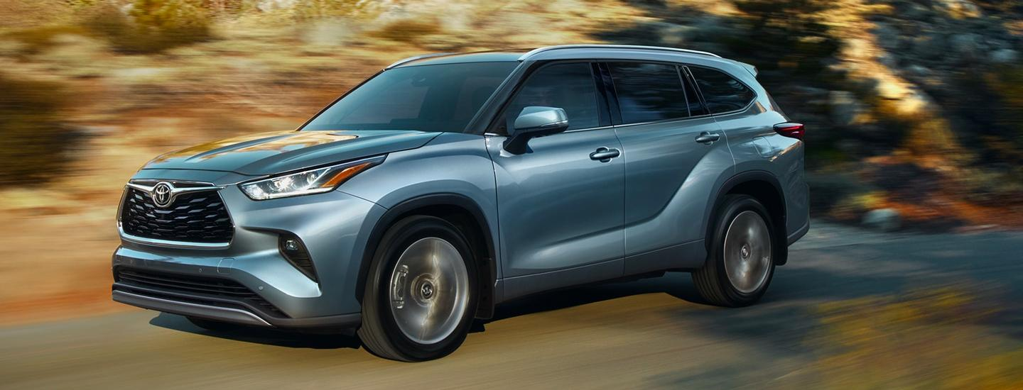 Picture of 2020 Toyota highlander for sale in Tampa Florida.