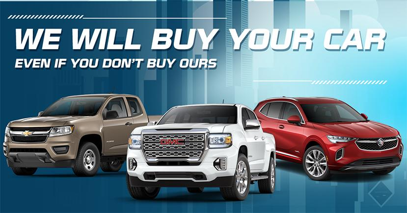 We will buy your car - even if you dont buy ours