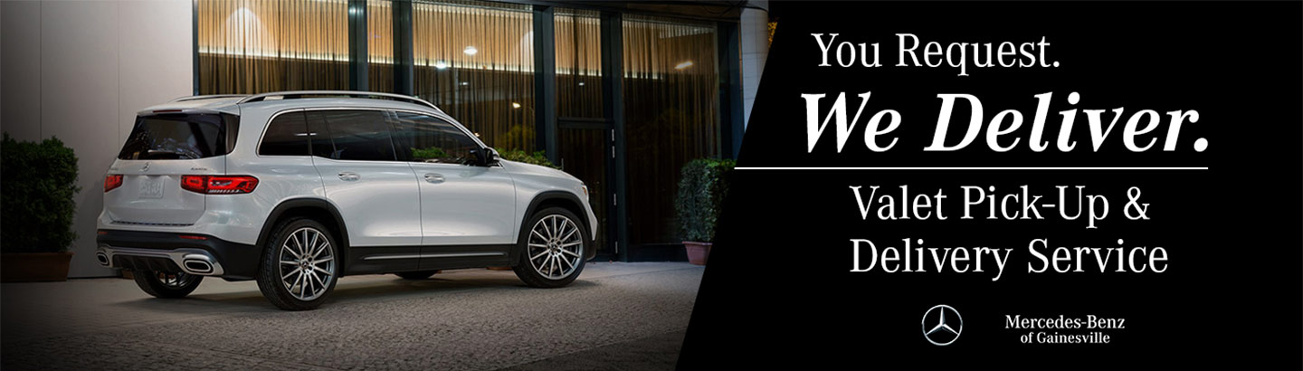 You Request. We deliver. Valet Pick-Up and Delivery Service