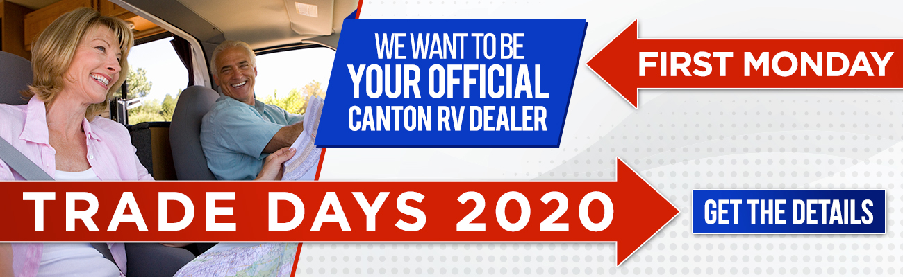 We want to be your official Canton RV Dealer | First Monday