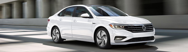 2020 Volkswagen Jetta in motion.