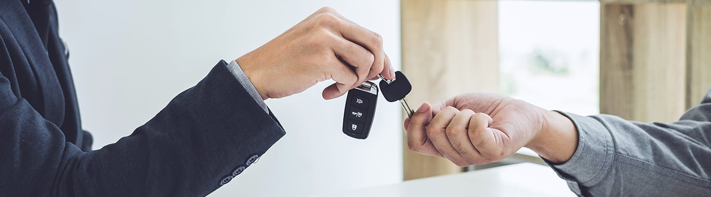 Key exchange on a new lease at Spitzer Chevy Amherst