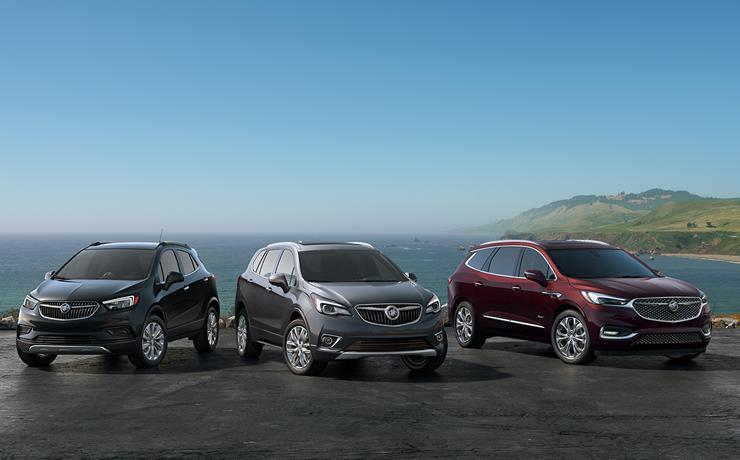 Buick Model lineup