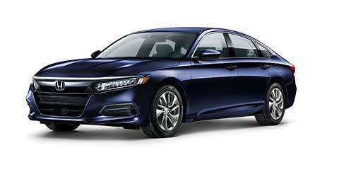 Honda Sedan blue