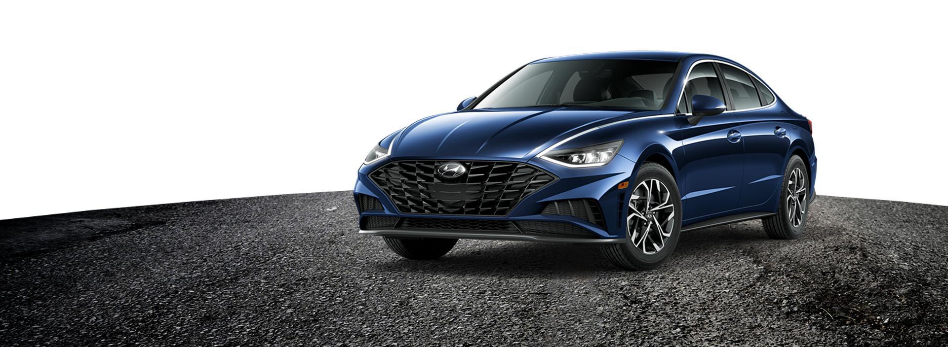 Dark blue 2020 Hyundai Sonata