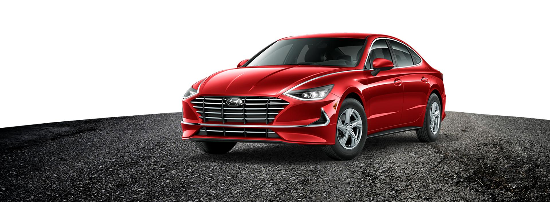 Red 2020 Hyundai Sonata