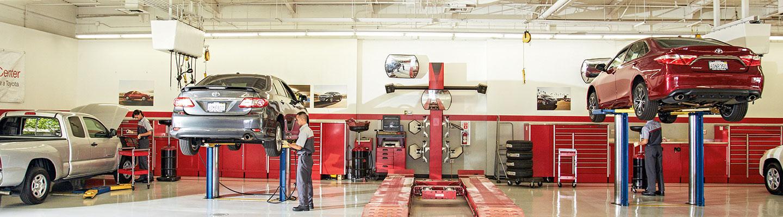 Auto Repair services at the World Toyota Collision Center of Atlanta