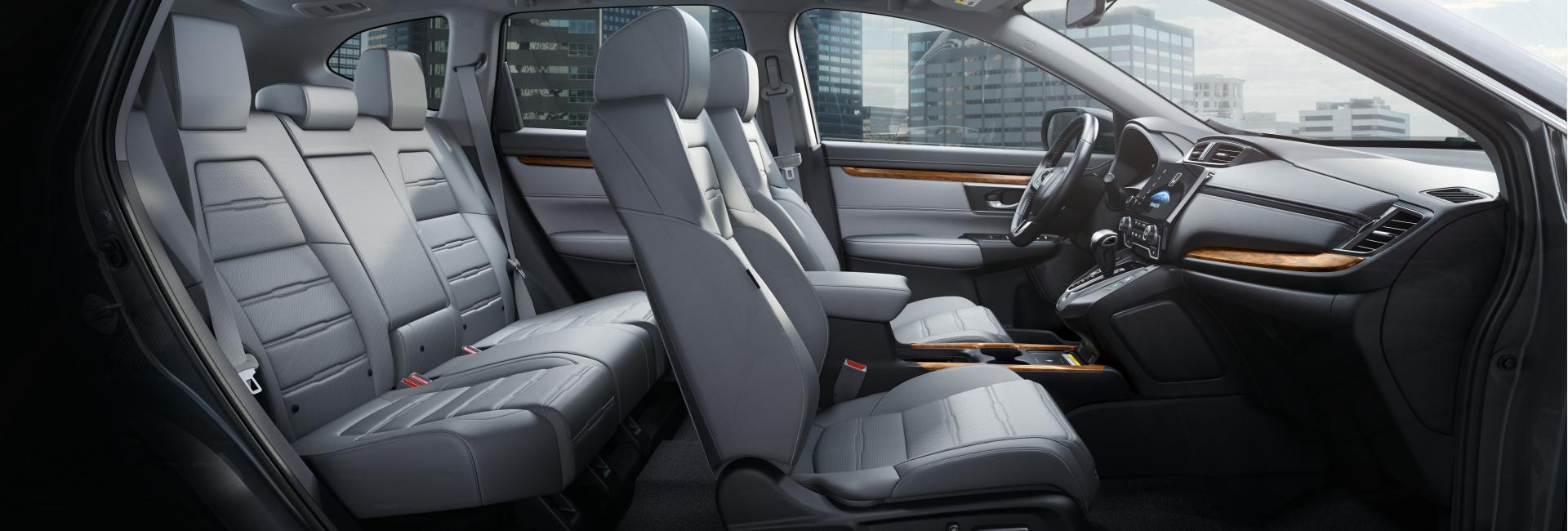 Cross-Section view of a 2021 Honda CR-V's interior