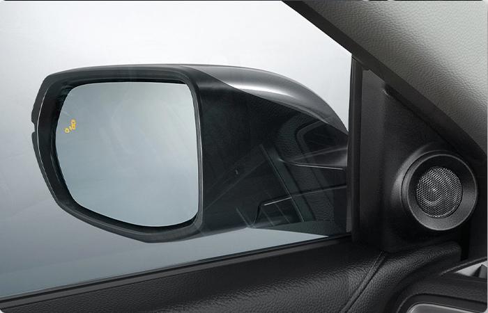 Side mirror sensor