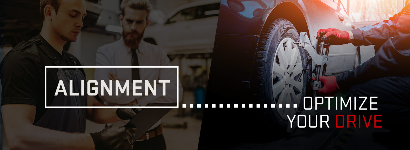 Alignment - optimize your drive