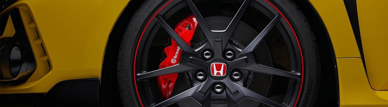 honda wheel detail