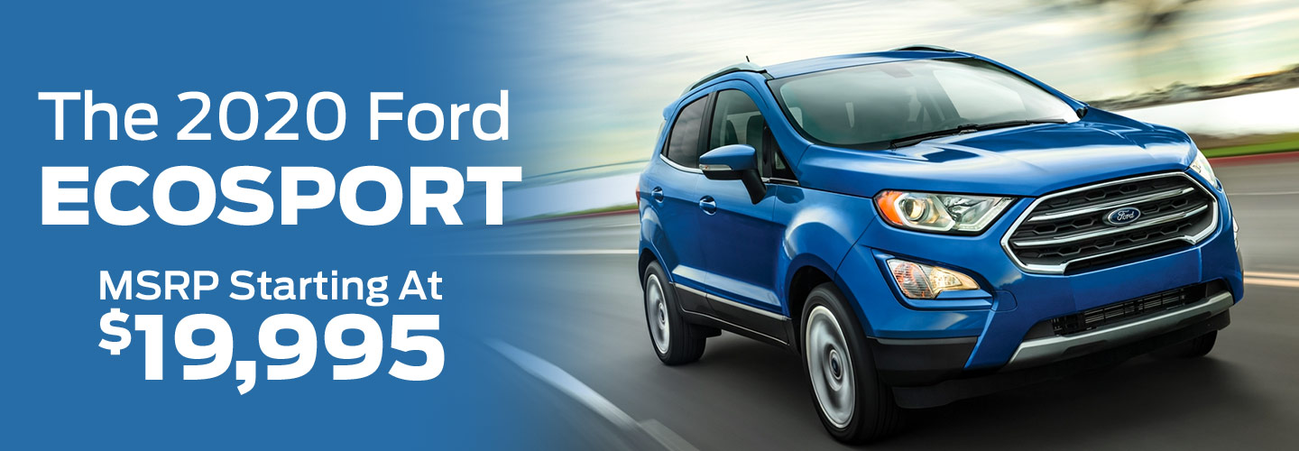 The 2020 Ford EcoSport