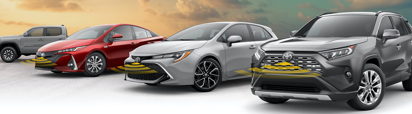 Toyota vehicles using the STAR safety system