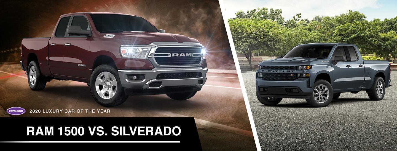 RAM 1500 vs Silverado
