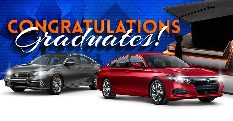 Honda of Gainesville graduate specials graduation