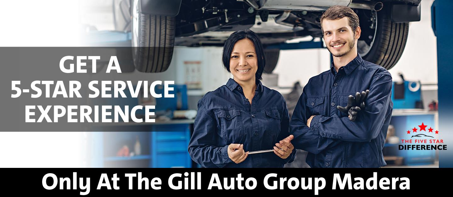 Get A 5-Star Service Experience - Only At Gill Chrysler Dodge Jeep Ram