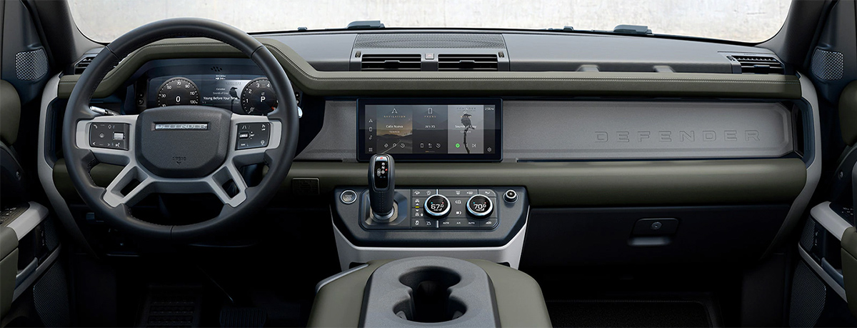 Land Rover Interior