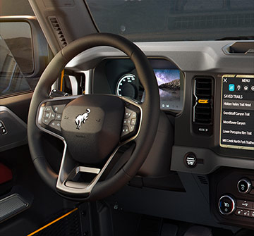 Bronco - Interior dash