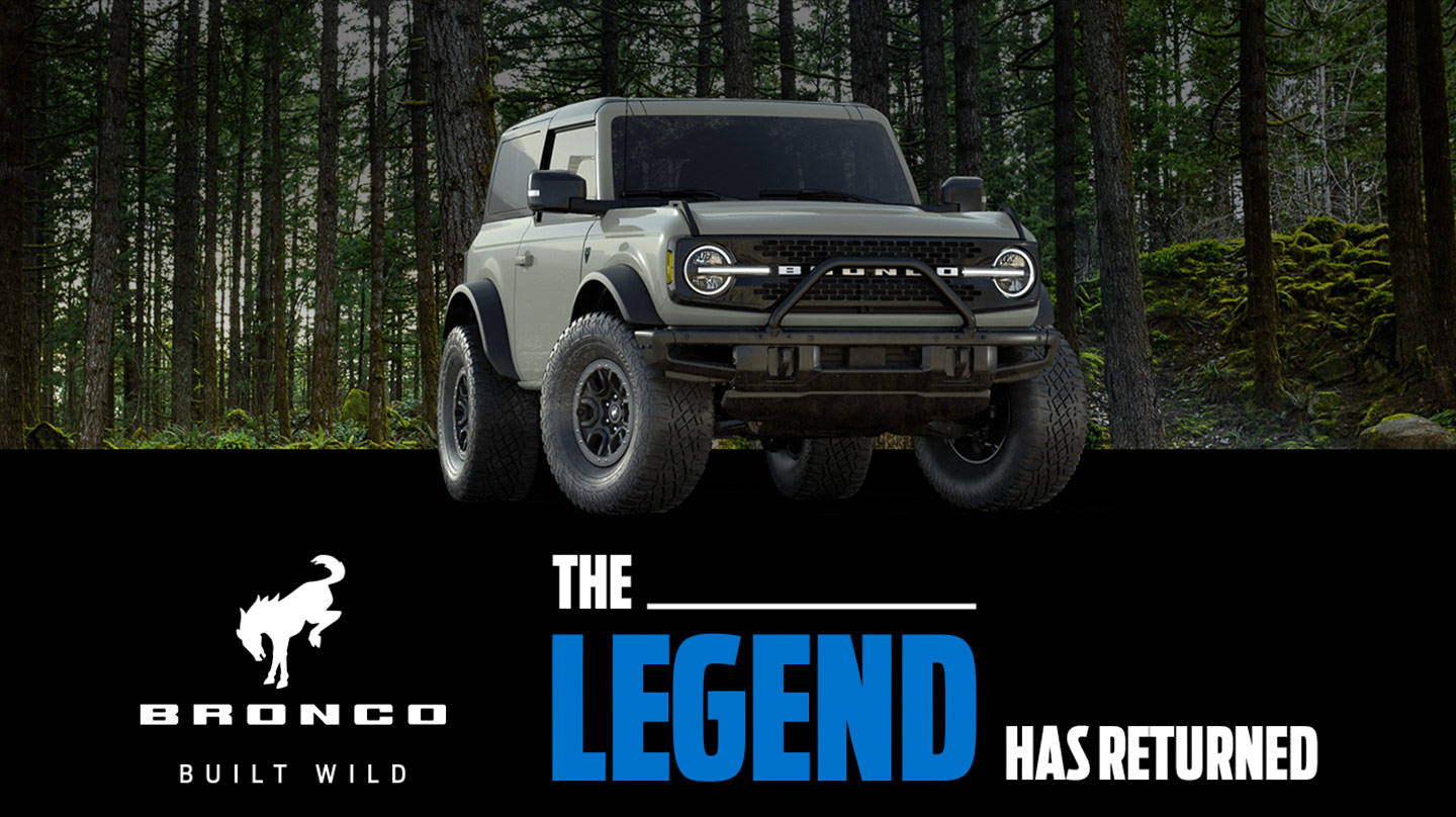 The Legend Has Returned | Bronco Built Wild