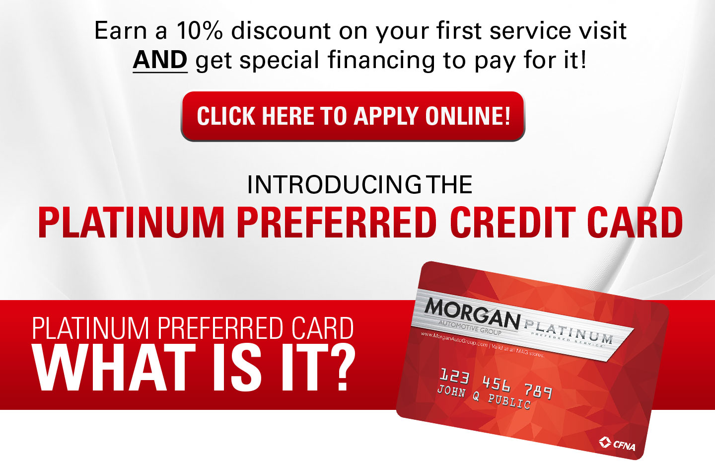 Click Here to apply online | Platinum Preferred Credit Card