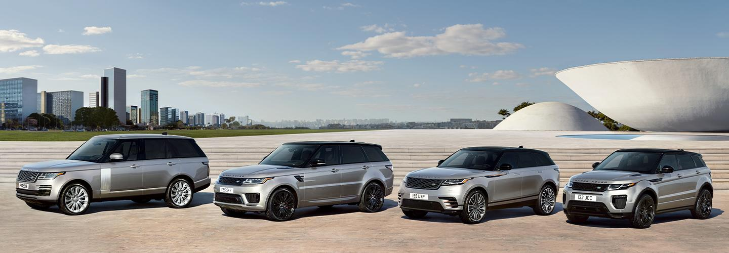 Image of Land Rover vehicles