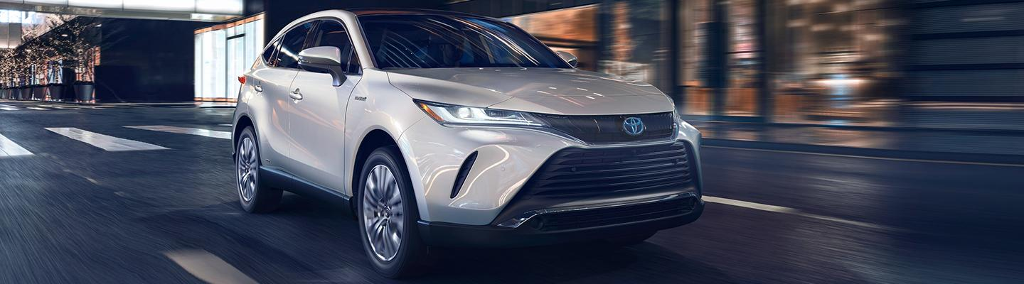 2021 Toyota Venza in motion