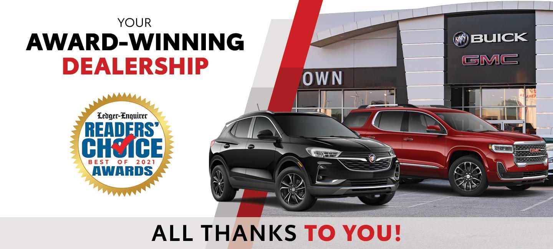 Award-Winning Dealership