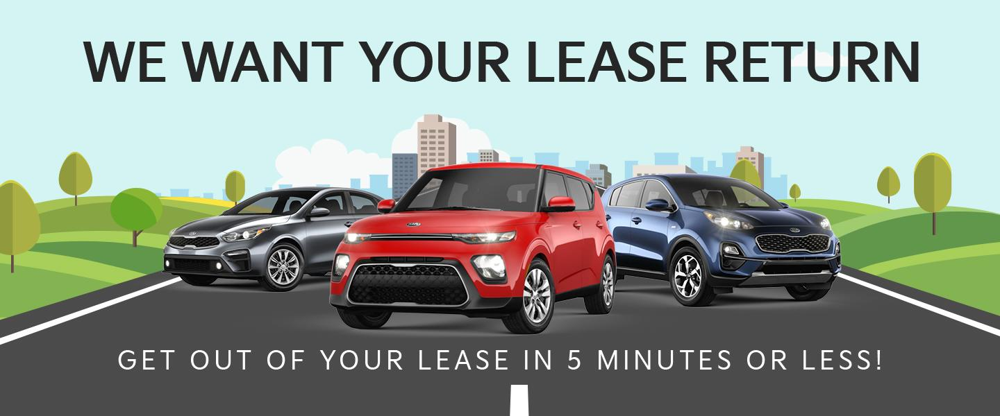 we want your lease return