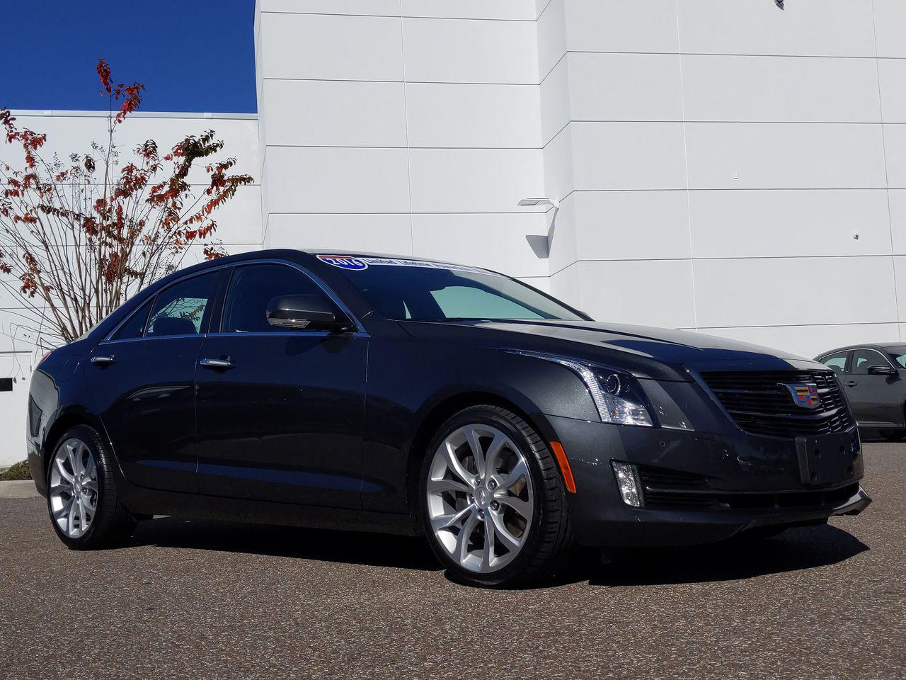 Used 2016 Cadillac ATS Sedan Premium Collection AWD