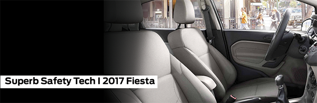 Safety features and interior of the 2017 Fiesta - available at Waldorf Ford near Alexandria, VA and Annapolis, MD