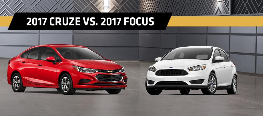 2017 Cruze Vs 2017 Focus in Indianapolis  Blossom Chevrolet