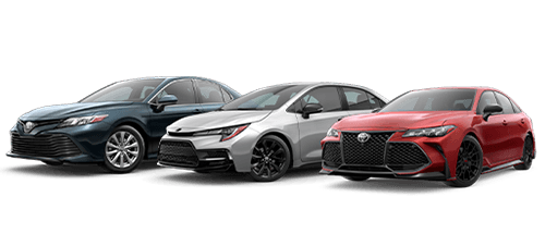 New Toyota Sedans at Rivertown Toyota in Columbus, GA