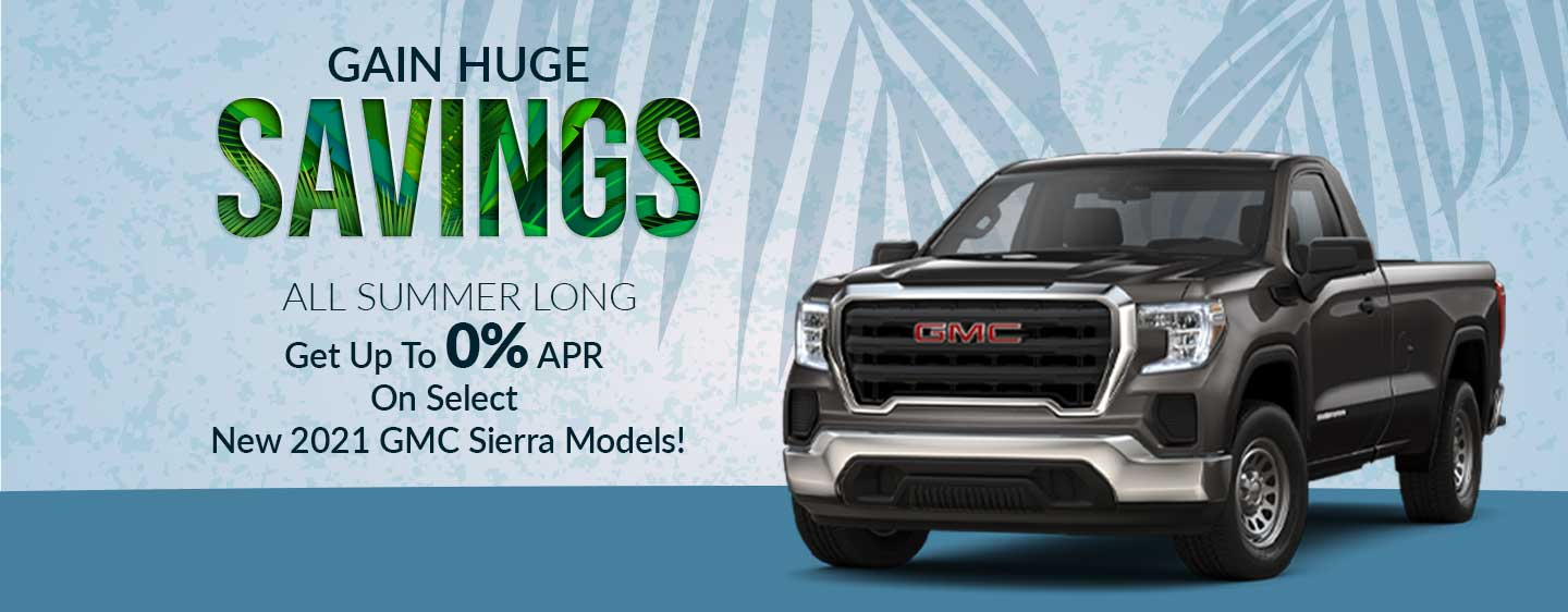 monthly Special Offers Gainesville Buick GMC