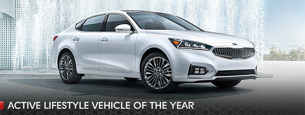2017 Kia Cadenza awards active lifestyle vehicle, Southern Kia Lynnhaven, Virginia Beach, Norfolk, Hampton, Cape Charles, Eastville, Exmore