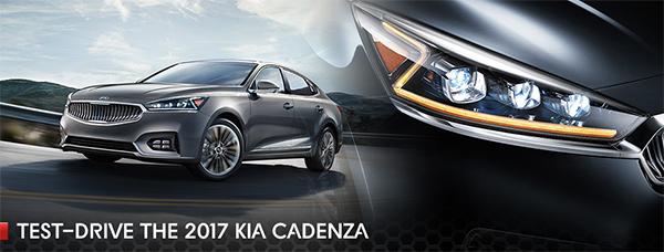 Test-drive 2017 Kia Cadenza Southern Kia Lynnhaven, Virginia Beach, Norfolk, Hampton, VA