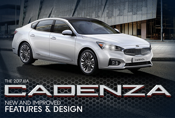 2017 Kia Cadenza Full-size Sedan New and improved features and design, Southern Kia Lynnhaven, Virginia Beach, Norfolk, Hampton, Cape Charles, Exmore, Eastville