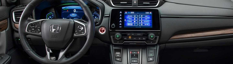 Inside view of the 2020 Honda CR-V infotainment system