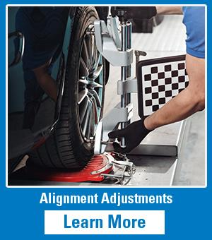 Service Tech Checking Alignment