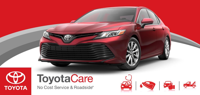 Sun Toyota Toyota Care, No Cost Service and Roadside
