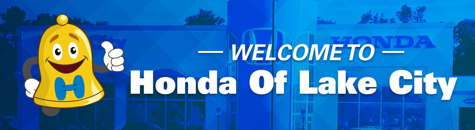Welcome to Honda of Lake City
