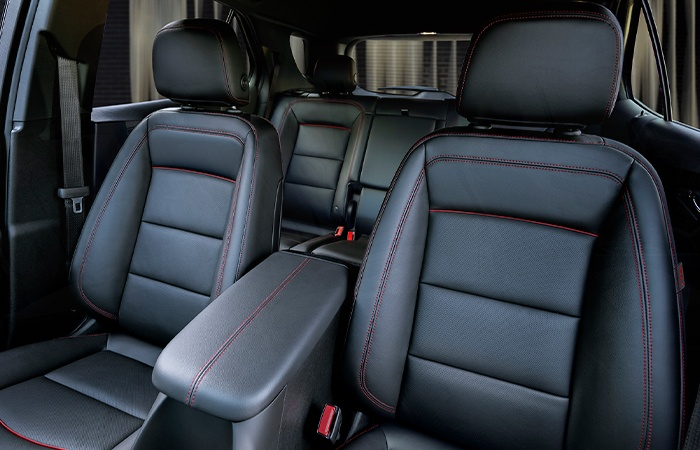 Interior View of rear passenger of 2022 Chevy Equinox